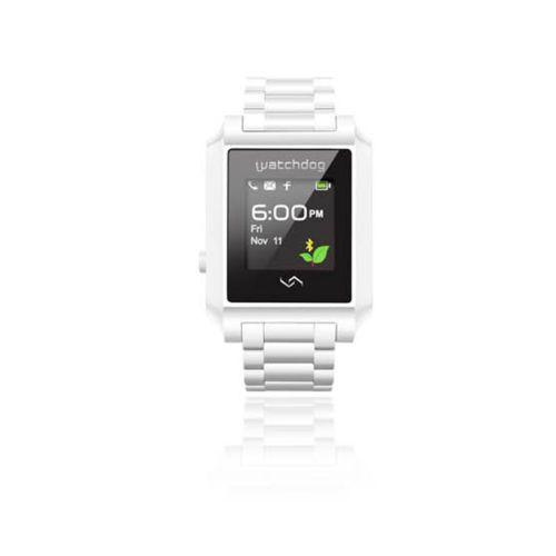 [WatchDog] Smart Digital Watch Classic EDSW-001 Bluetooth Touch Screen (Silver)