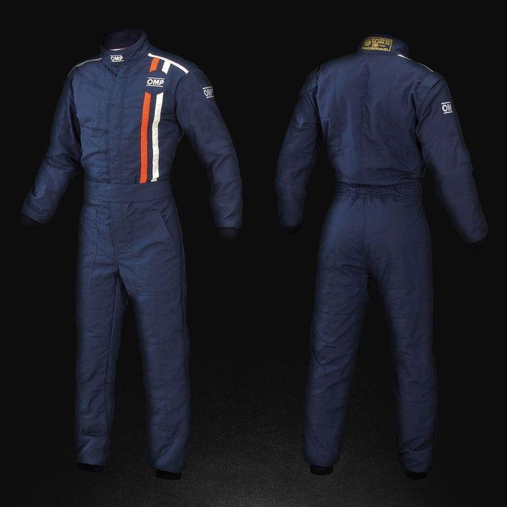 Tuta Classic '70s Design colore Navy blue
