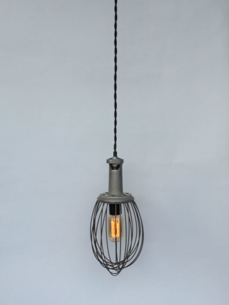 Industrial Whisk Lamp, Reclaimed Lighting, Hobart Whisk, Industrial Lighting Pendant, Unique Lighting, Whisk Pendant Light, Farmhouse Lamp by ModernArtifactDecor on Etsy https://www.etsy.com/listing/269363107/industrial-whisk-lamp-reclaimed-lighting