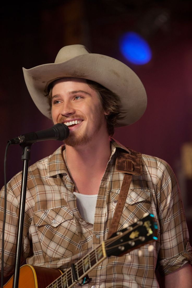 garrett hedlund, loved him in country strong! especially when he sang silver wings! i squeled!