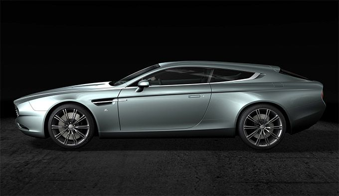 Zagato reveals custom Aston Martin Virage Shooting Brake