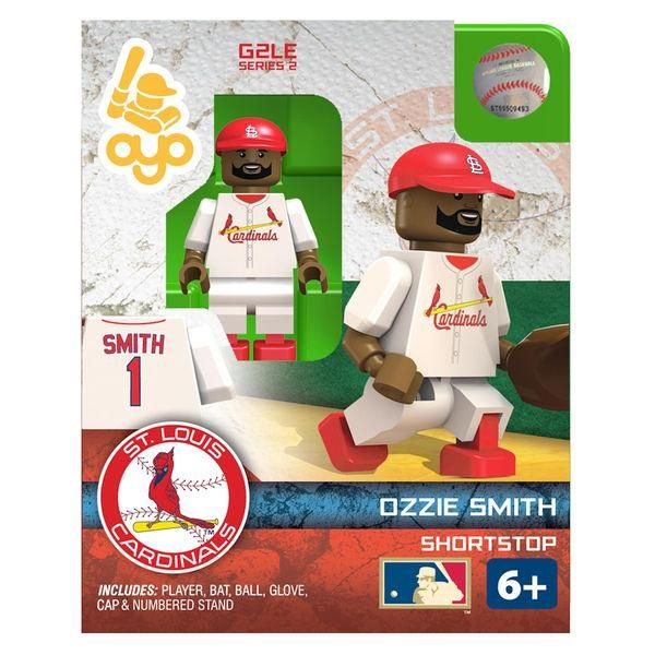 MLB St. Louis Cardinals Ozzie Smith Mini Figure