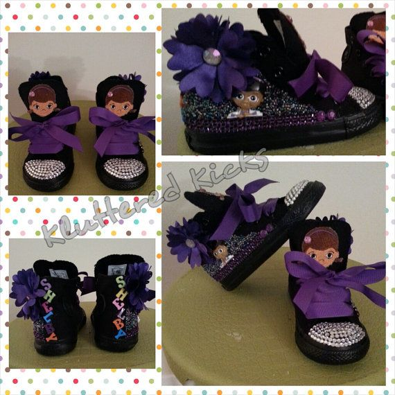 Hey, I found this really awesome Etsy listing at https://www.etsy.com/listing/183408989/doc-mcstuffins-custom-converse