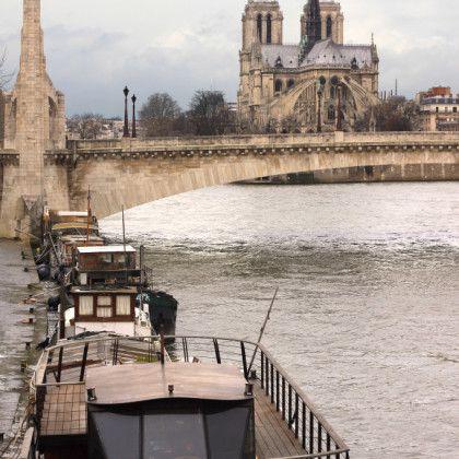 Notre Dame Seine, Paris