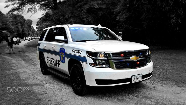 Chevy Tahoe | Caroline County Sheriff's Office - Caroline County Sheriff's department SUV at the 7th annual Fallen Officer Memorial Ride ~ held May '17 in Dorchester County, Maryland.