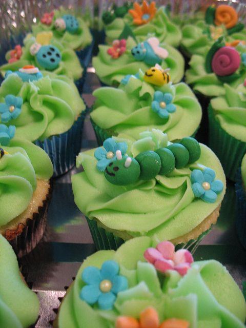 Garden Cupcakes by ashleycupcakes, via Flickr