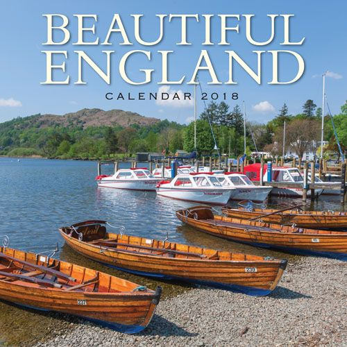 Beautiful England Calendar 2018