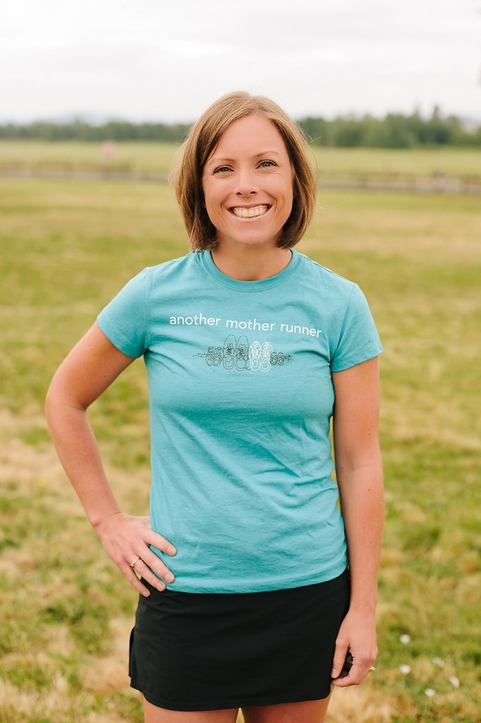 Meredith in another mother runner short sleeve $25