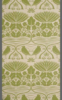 Charles A. Voysey, Paper, England, 1893.
