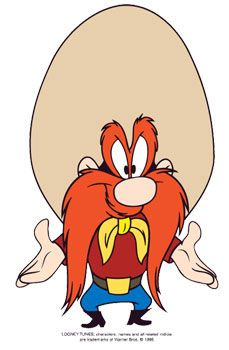 Yosemite Same and his ten gallon hat - one of my fav cartoon characters!                                                                                                                                                                                 More
