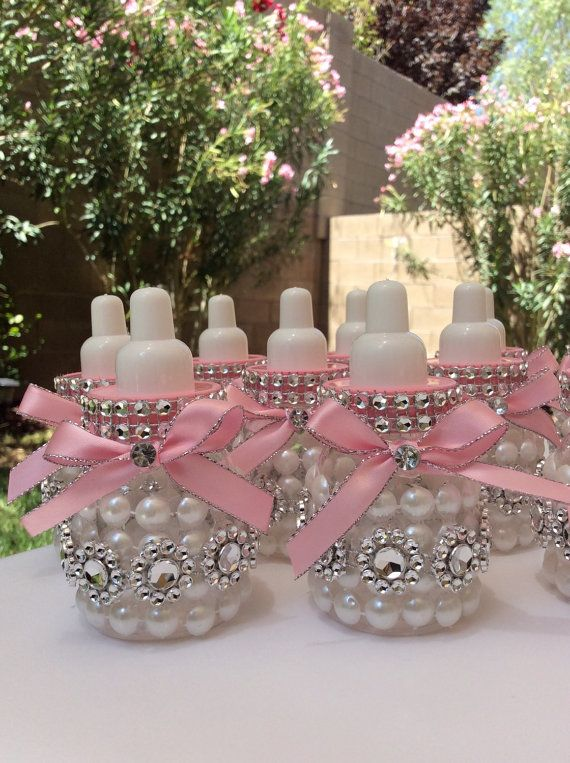 12 small 3.5 Little princess Baby shower by Marshmallowfavors