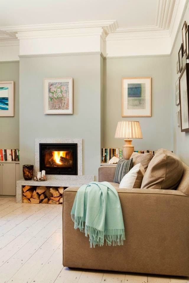 Modern Country Style: Case Study: Farrow and Ball Light Blue (Pt 2) Click…