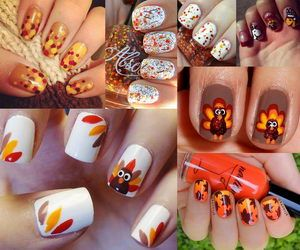 Thanksgiving nail art is an interesting way to dress up your look for fall. You can make a Thanksgiving manicure or pedicure to enjoy throughout the month of November. Take a look at these Cool Thanksgiving and Fall Nail Designs, which are great examples of nail art you can do yourself.