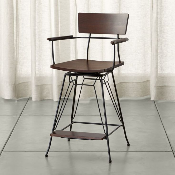 elston swivel - Find the perfect barstool for kitchen or bar at Crate and Barrel. Browse wooden, upholstered, leather and metal bar stools. Order a bar stool online.