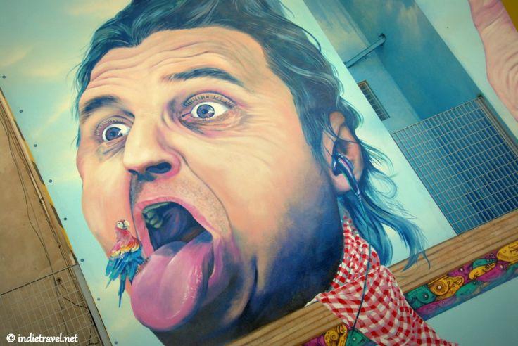 Buenos Aires Street Art -Argentine street artist, Martin Ron
