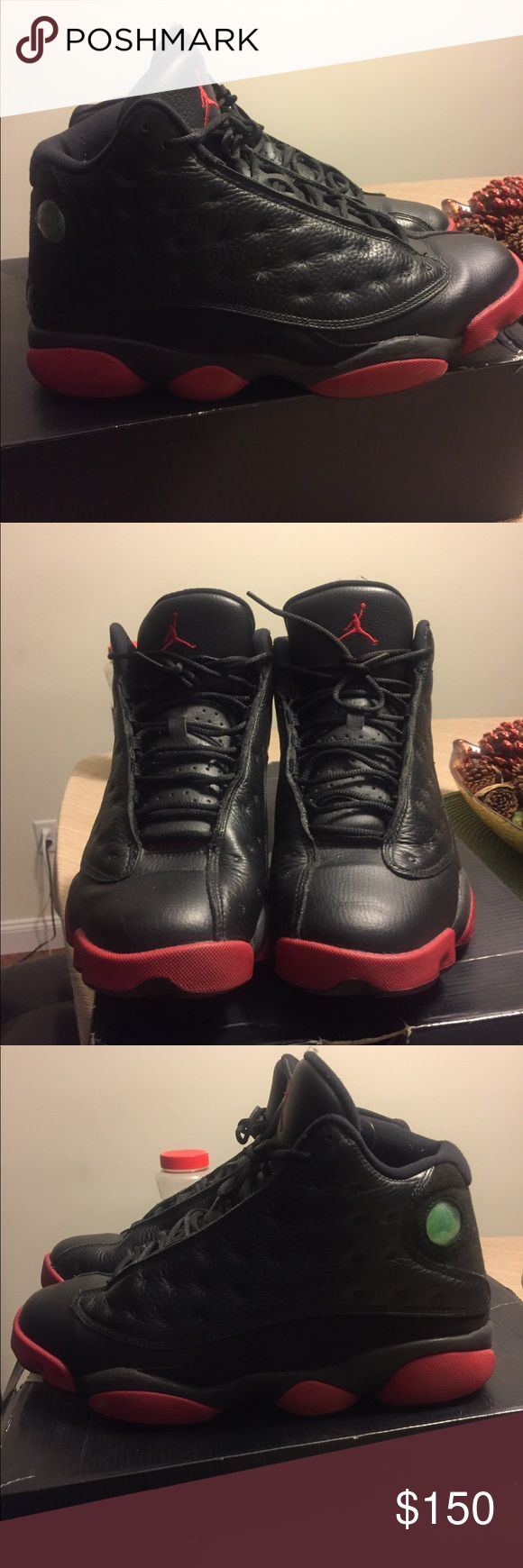 🔥🔥💯💯 dirty bred 13s💯💯🔥🔥 🔥🔥💯💯 dirty bred 13s💯💯🔥🔥 Do not buy. Trade for black cats @tyrone0505 Jordan Shoes Sneakers