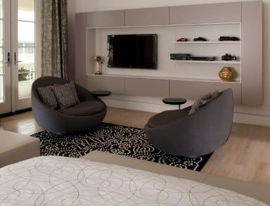 Круглое кресло - смягчим интерьер - 50 фото - Мебель в интерьере