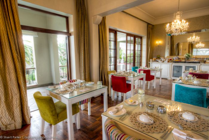 Clarendon Fresnaye dining room