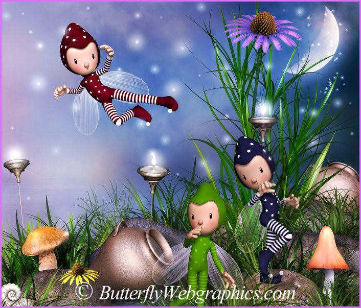 Cool little bug fairies!