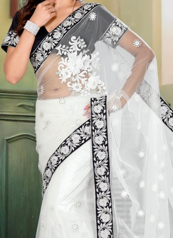 Bridal Fashion Week - White Wedding Saree