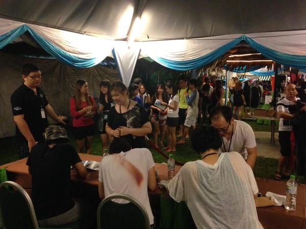 Penang Island Jazz Festival... What a nice place&people! We had a lot of fun and really looking forward coming back!