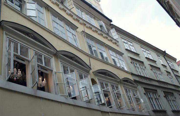 Old city Prague architecture