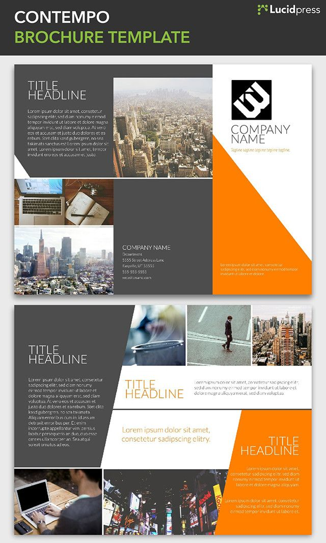 23 best free brochure templates images on pinterest free for Creative brochure templates free