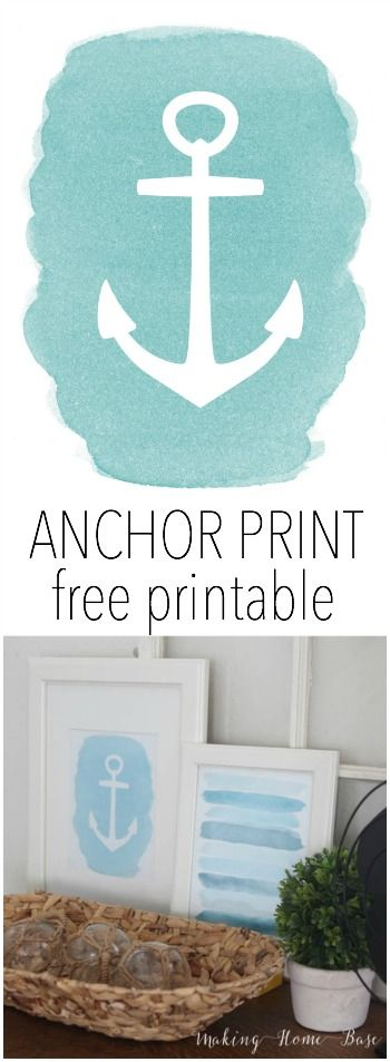 Free Anchor Printable Download
