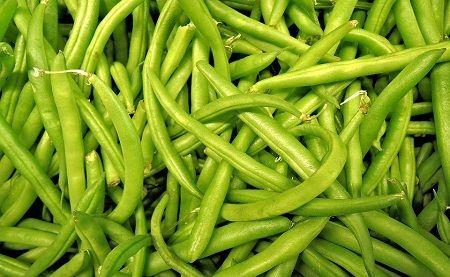 cuisson COOKEO : 200 ml d'eau avec le panier pendant 9 mn quelque soit la quantité de haricots verts