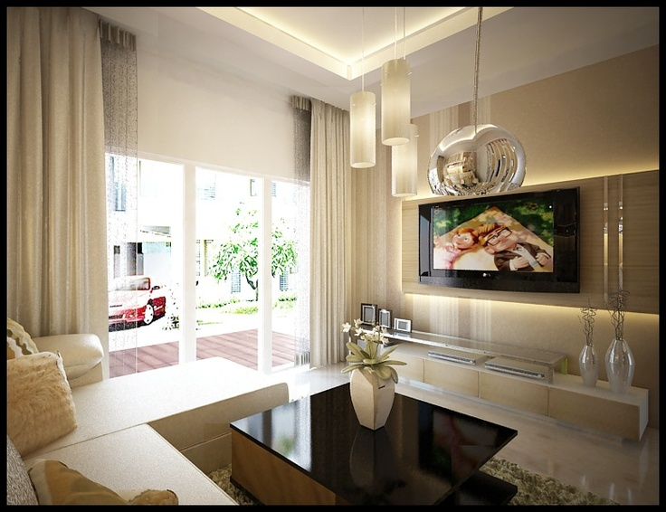 Living room at jakarta garden city | Interior design | Pinterest ...