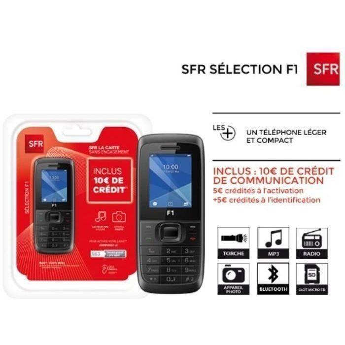 Pack Sfr Selection F1 Dual Sim Telephone Iphone Carte Memoire
