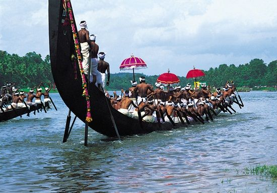 One of the great festivals of India in Kerala, Champakulam boat race festival makes Kerala tourism a must for travelers from USA and Canada to India. Apart from the festival, Kerala, is an all-time visit for beautiful backwaters, balmy beaches and mystic valleys. With cheap air tickets from IndianEagle.com, fly to Cochin International Airport or Trivandrum International Airport in Kerala, India.