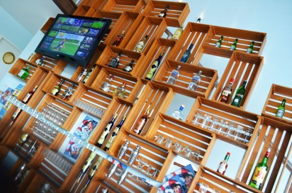 Coffee Shops About The World And Their Eye-Catching Interior Layout Details   2014 interior design article