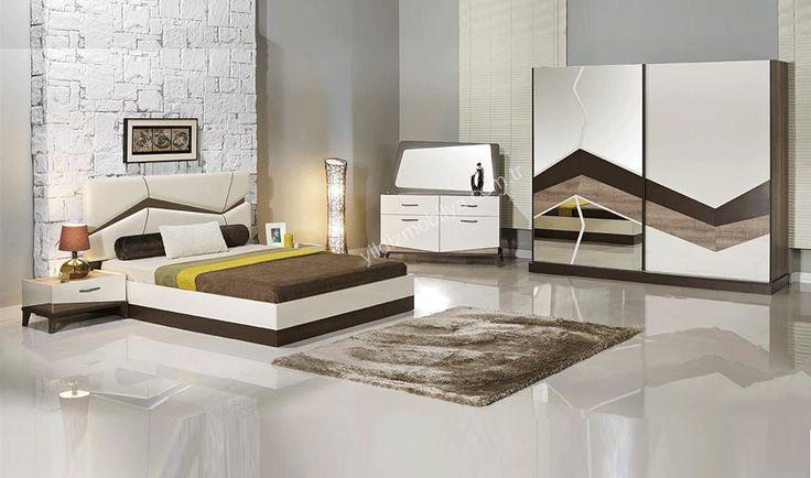 Kent Yatak Odası  #bed #bedroom #avangarde #modern #pinterest #yildizmobilya #furniture #room #home #ev #young #decoration #moda      http://www.yildizmobilya.com.tr/