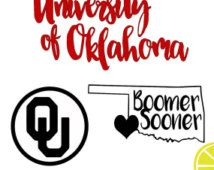 Boomer Sooner, OU svg, state vector, university of Oklahoma, Oklahoma svg…