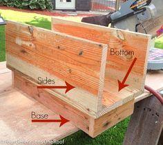 How to make a mailbox {tutorial}                                                                                                                                                                                 More