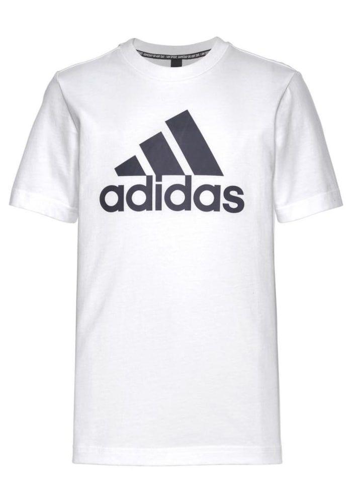 Adidas Performance T Shirt Must Have Badge Of Sport Jungen Schwarz Weiss Grosse 152 Shirts T Shirt Und Kinder T Shirt