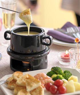 鍋004 チーズフォンデュ - レシピ - Yahoo!ブログ イメージ 1