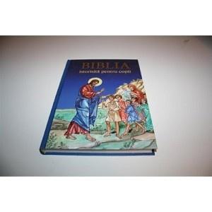 The Greek Orthodox Children's Bible / Matha Xynopoulou-Kapetanakou / Romanian Language Edition / BIBLIA istorisita pentru copii / Romanian Orthodox Bible for Children with Illustrations