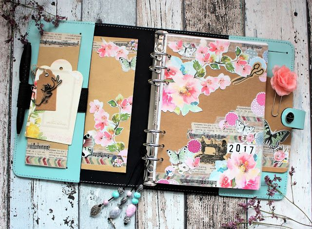 Creative pages by amaryllis775: Filofax Original Duck Egg SetUp / meine Planer Tei...