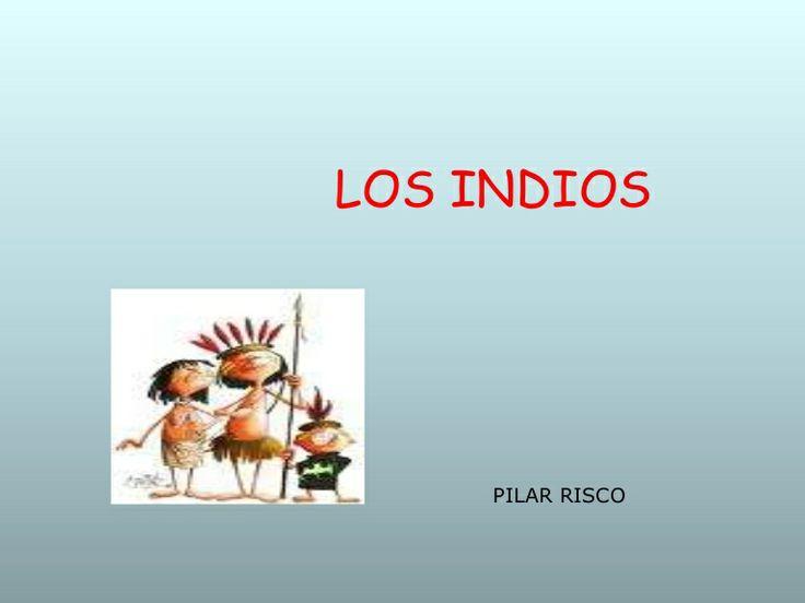 Los indios ed. infantil