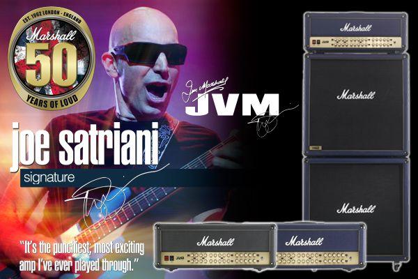 Joe Satriani Signature Marshall JVM410HJS Amps