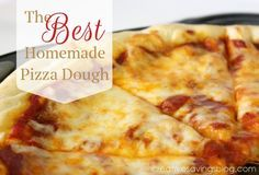 This post may contain affiliate links.Read my full disclosure policy here. It took me 6 years to find a basic pizza dough recipe that I actually liked. 6 years! Most were either too bland, too yeasty, too something, and I often resorted to the kind that comes in a can because it was easy, and …