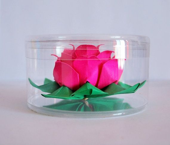 17 best ideas about paper lotus on pinterest paper for Diy paper lotus candlestick
