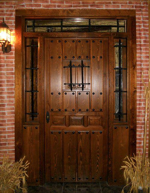 Mejores 26 im genes de puertas de entrada r stica en - Puertas rusticas alpujarrenas ...