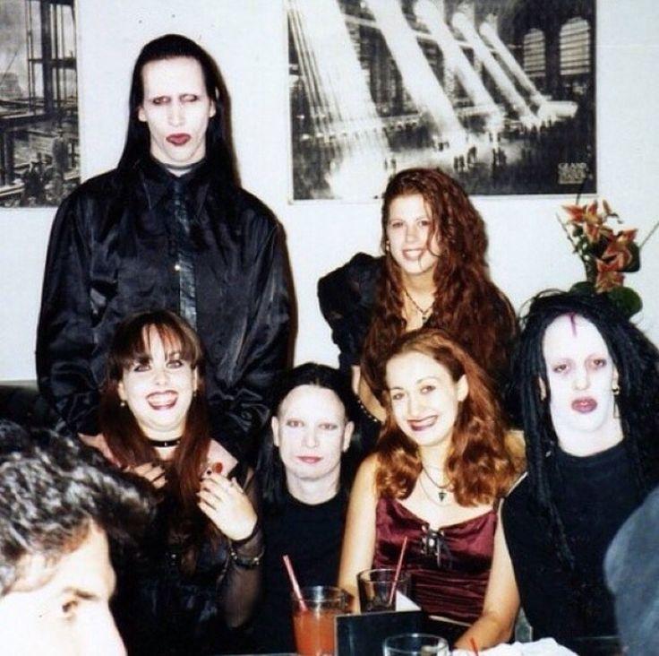 Marilyn Manson, Zim Zum and Twiggy Ramirez