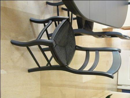 Les 25 meilleures id es de la cat gorie chaise paille sur - Peindre chaise bois et paille ...
