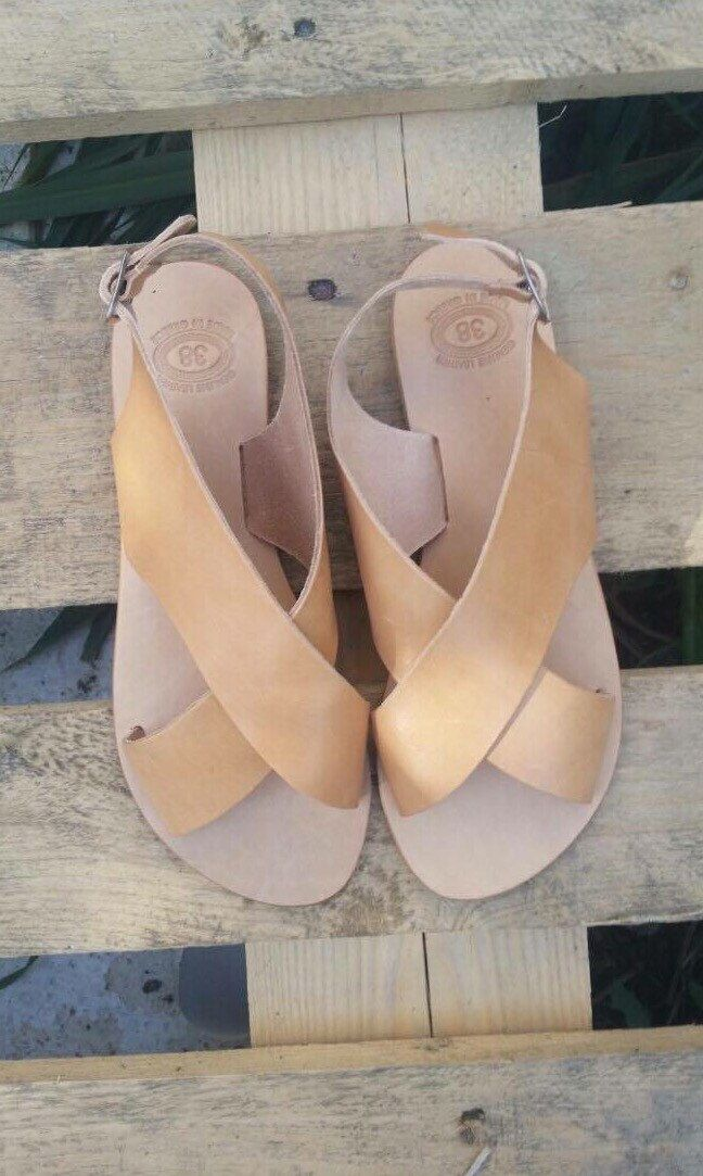Leather Sandals, Greek Sandals, Gladiator Sandals, Summer flat sandals, Strappy Sandals, Real leather,Women
