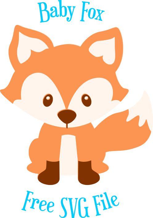 Free Fox SVG Cut File: Cute Woodland Animal SVG Cut Files ...
