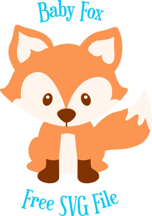 Download Free Fox SVG Cut File: Cute Woodland Animal SVG Cut Files ...